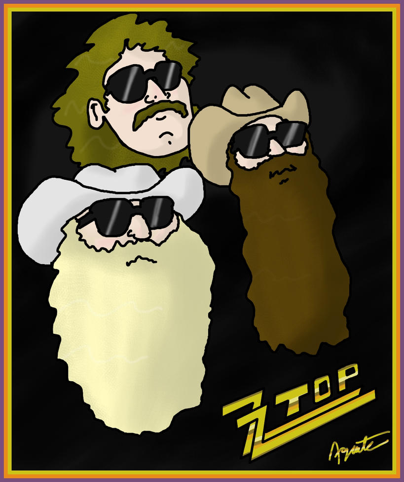 zz top: beards ruleagentc-24 on deviantart