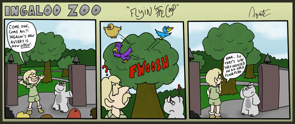 Ingaloo Zoo: Flyin' the Coop by AgentC-24