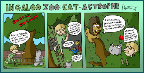 Ingaloo Zoo: Cat-Astrophe by AgentC-24
