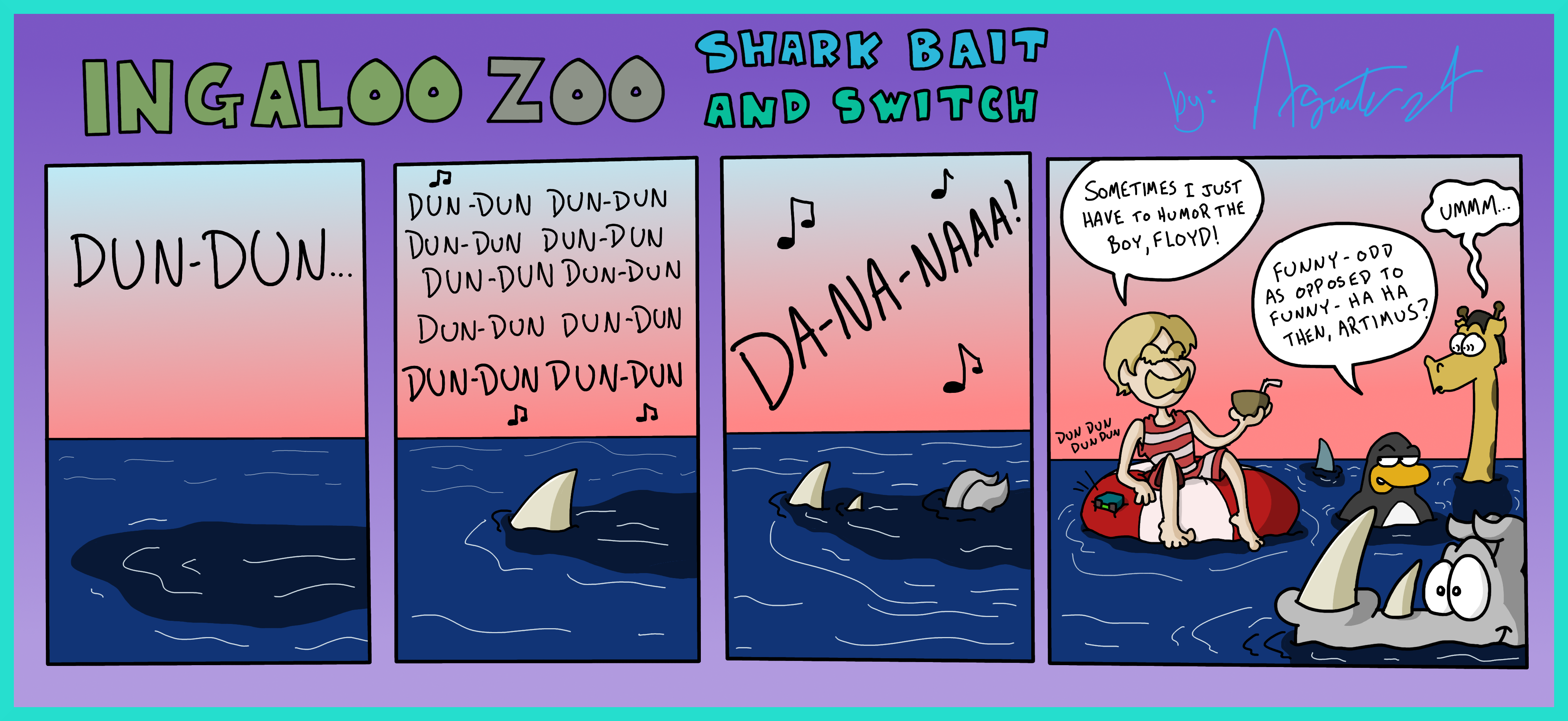 Ingaloo Zoo: Shark Bait and Switch by AgentC-24 on DeviantArt