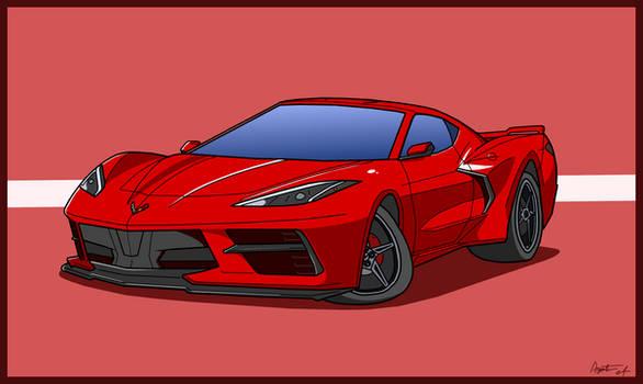 Commission: C8 Corvette