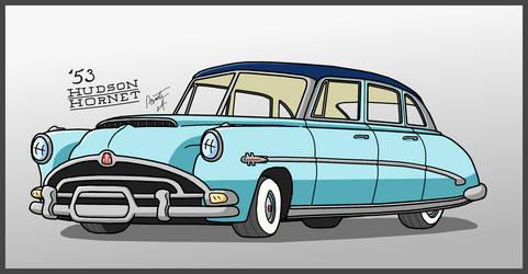 Fabulous Hudson Hornet Redraw
