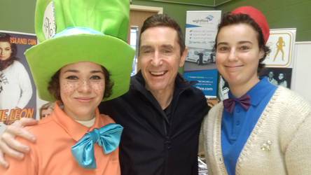Hatter, Mismatched Doctor Person, and Paul McGann!
