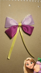 Rapunzel Hairbow by BlueButtefly