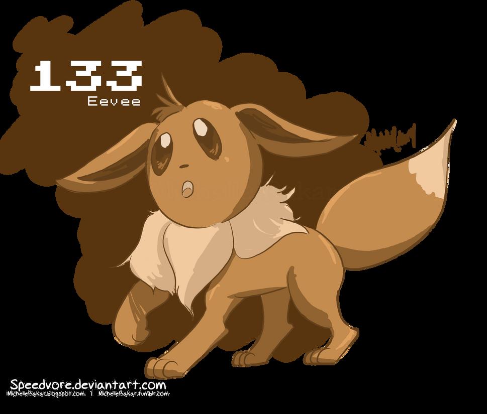 133: Eevee by Speedvore