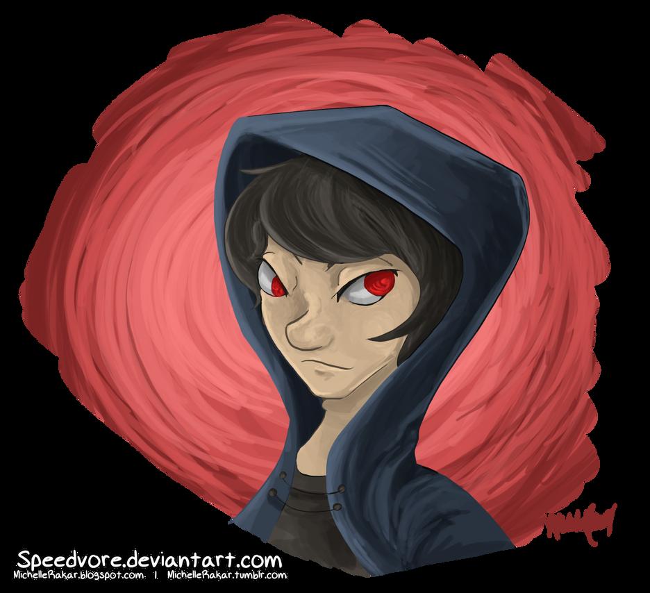 Darkitu Portrait by Speedvore
