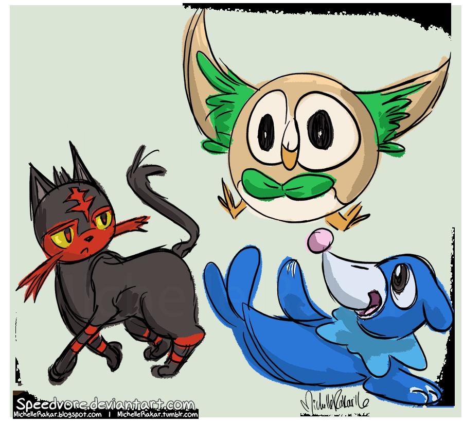Pokemon Gen 9 Starters Images