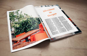 Magazine Mockup by RoccoBMB
