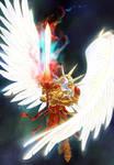 Sanguinius. Warhammer 40000 (commission)