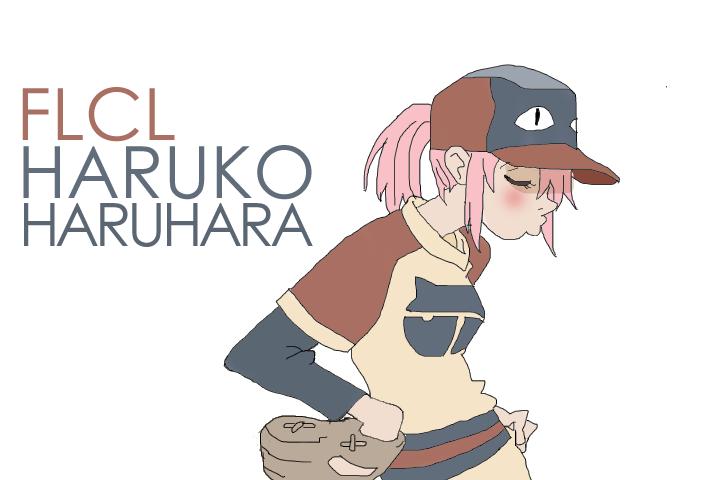 Haruko haruhara by xcorrinax on deviantart - Flcl haruko haruhara ...