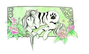 Tiger Pony My Little pony by diablalique