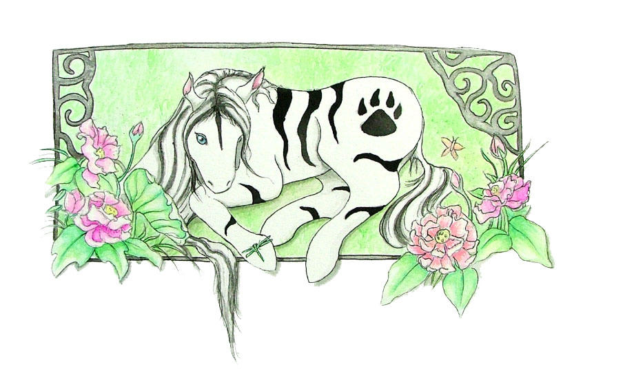 Tiger Pony My Little pony by diablalique