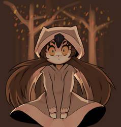 Owl Girl by raburine