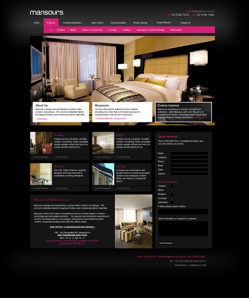 Furniture website by logicdesign on deviantart Home furniture online websites