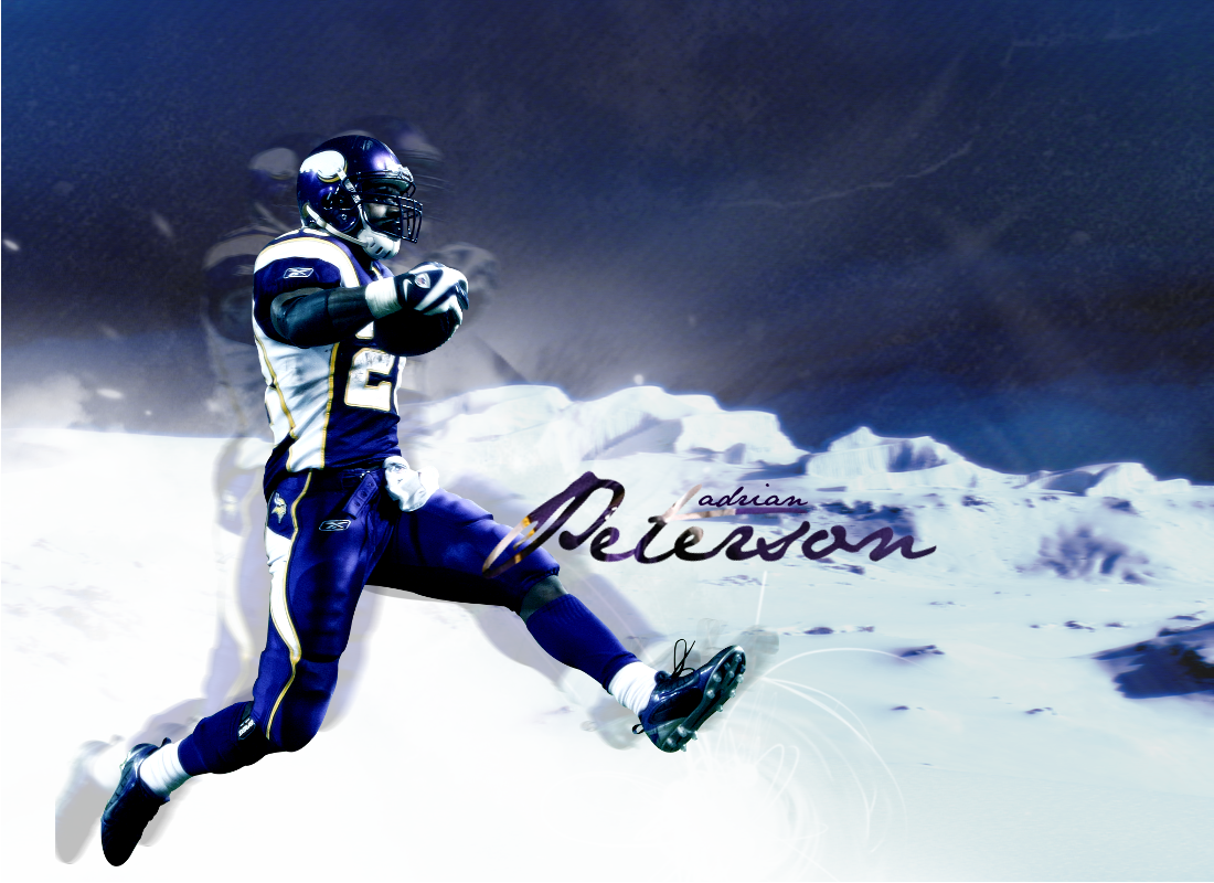 Adrian Peterson By KTGFX