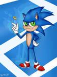 Sonic the Hedgehog by yipkarhei2001