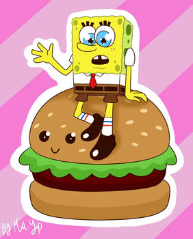 Spongebob and his Cute-by Patty