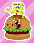 Spongebob and his Cute-by Patty by yipkarhei2001