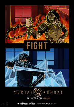 Round 1 Fight!!! (Mortal Kombat Movie 2021)