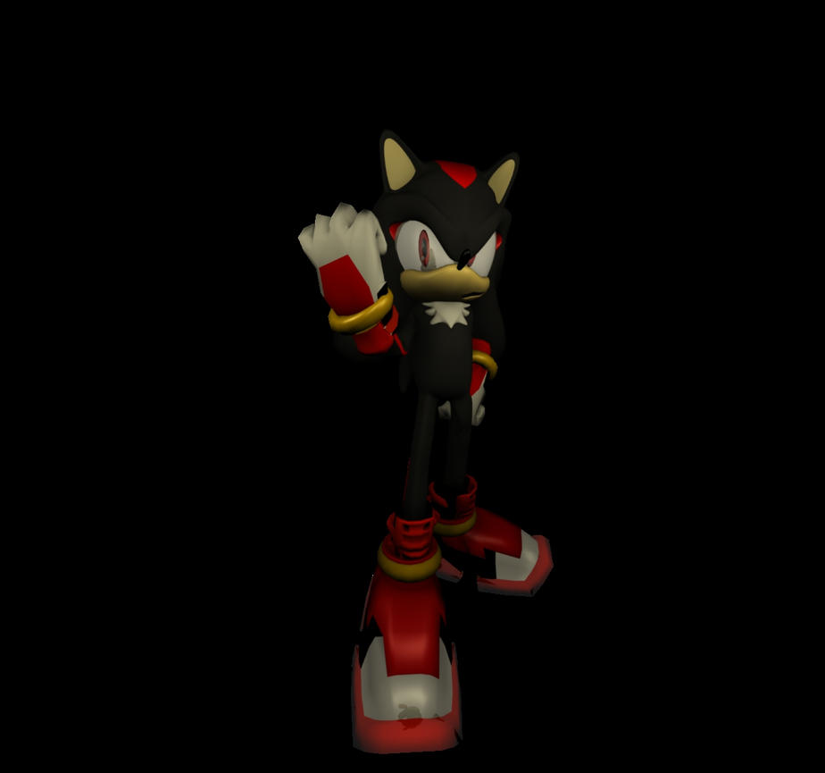 sonic boom shadow the hedgehog by werehog-laulau