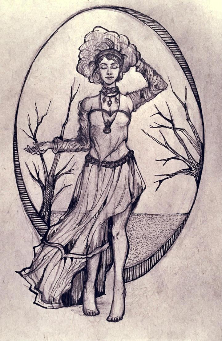Queen of Sand -- Slave2Karma (request) by amirafox