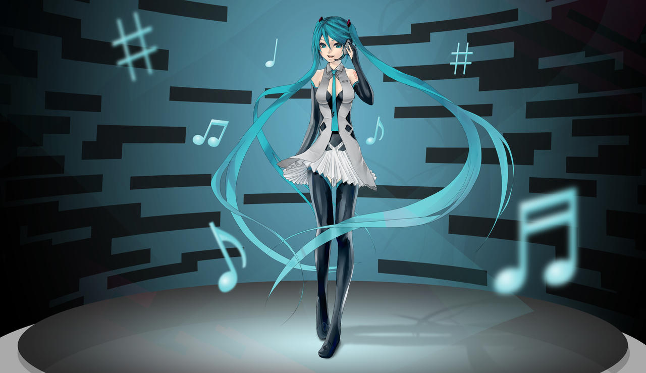 Redesign Miku Hatsune entry by xaetic