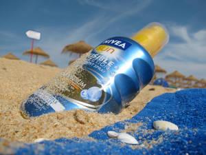 Sun, sea, sand and suncream