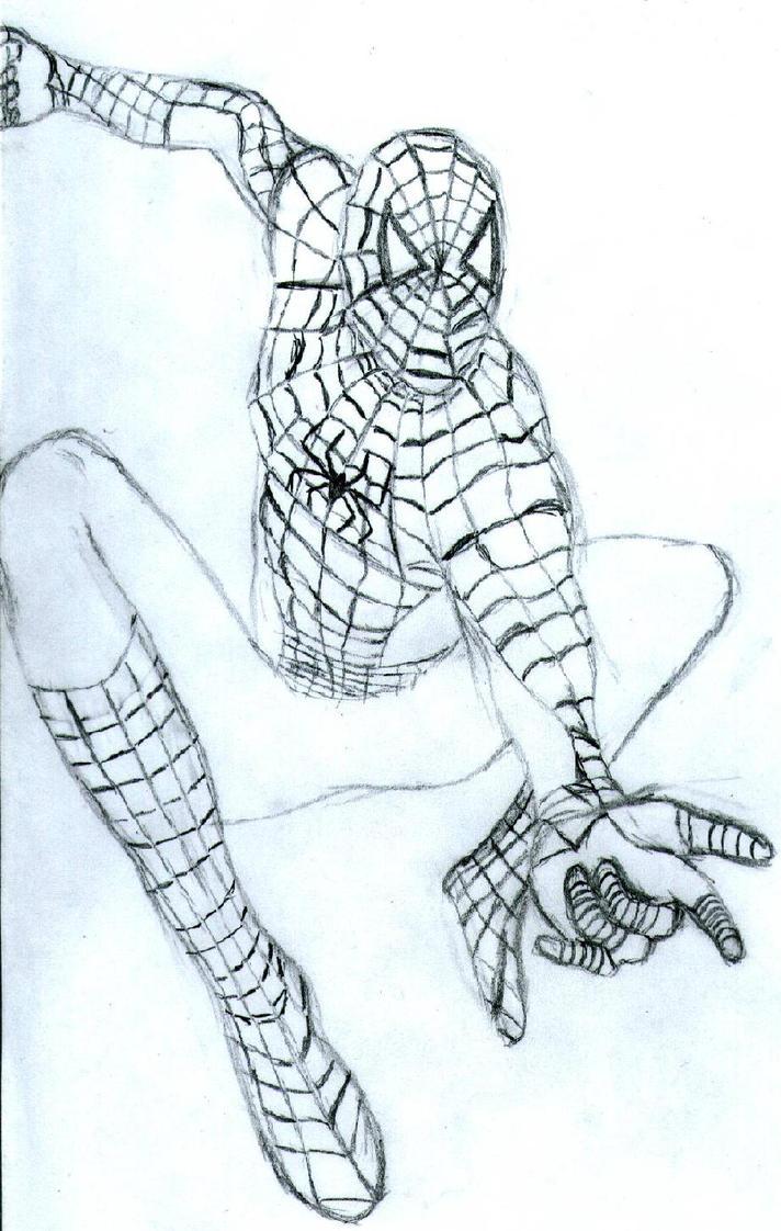 Spiderman Sketch By FishyFi On DeviantArt