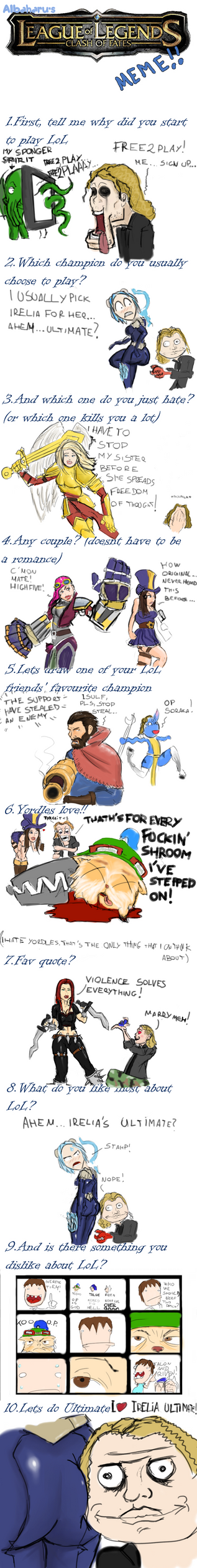 League Of Legends - Champion Meme by Isulf