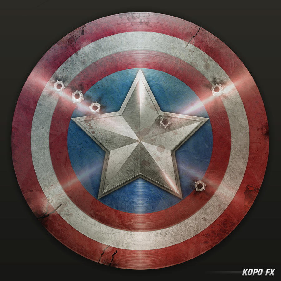 captain america shield 3 by kopofx on deviantart