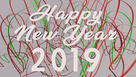 Happy New Year 2019 Wallpaper 2
