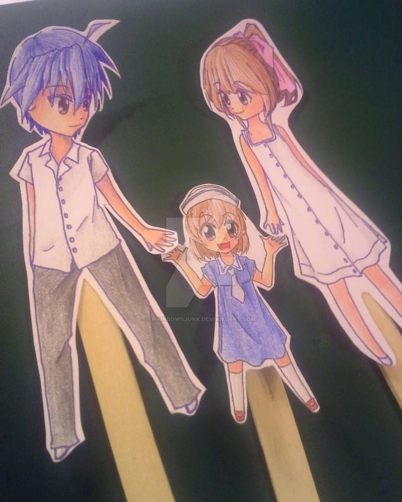 Clannad Afterstory Nagisa Tomoya And Ushio By Rainbowsjunk On Deviantart