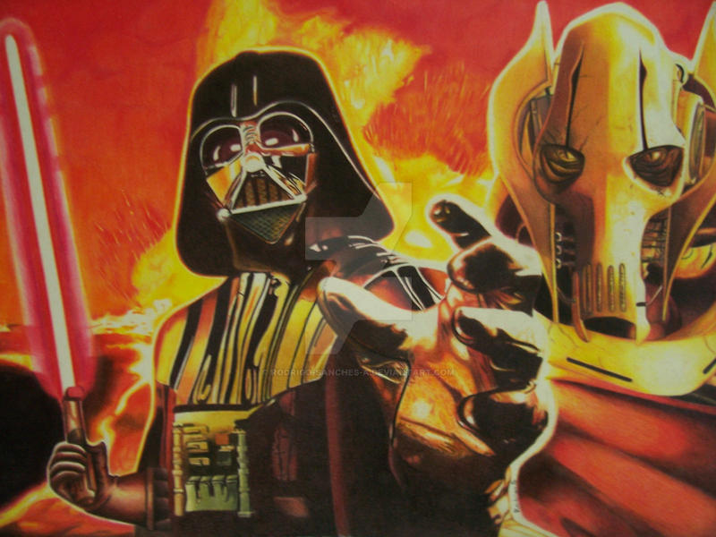 Star Wars by Rodrigo-Sanches-A