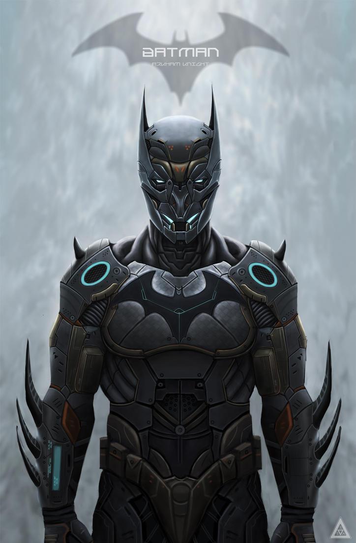 Batman: Batsuit by Rodrigo-Sanches-A