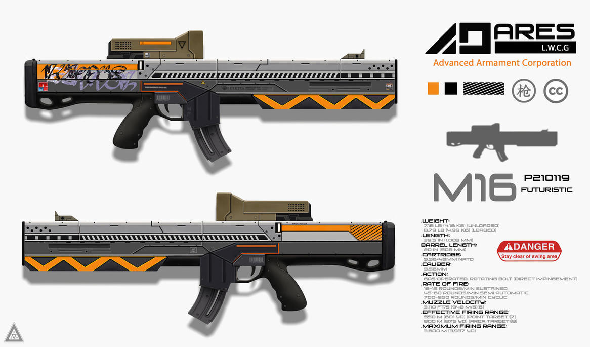 Assault Rifle by Rodrigo-Sanches-A