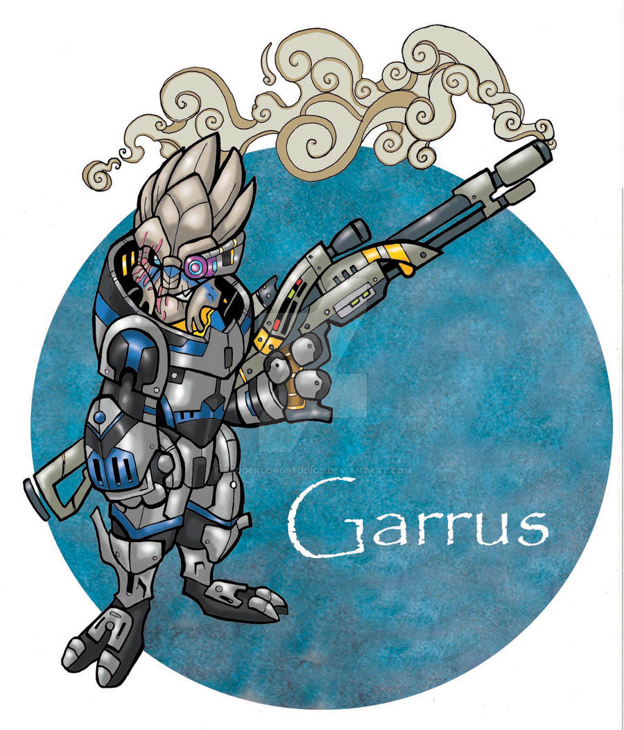 Garrus by badgerlordstudios