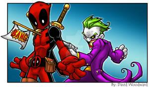 Deadpool Vs Joker