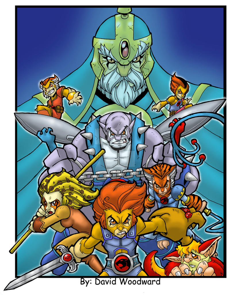 Thundercats by badgerlordstudios