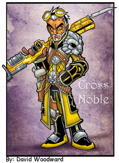 Commission: Cross Noble by badgerlordstudios