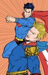 Superman vs Homelander - Commissions Open