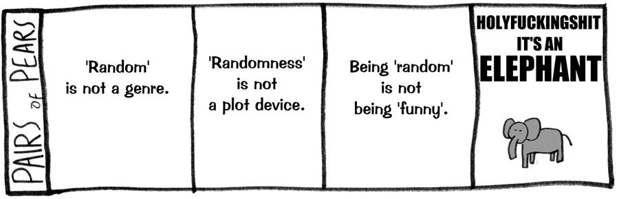 DLD: Randomness by XenonXylophone