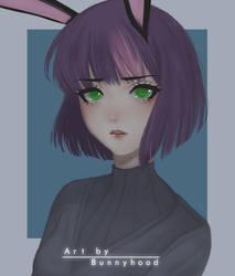 Bunny [OC] by ArtofBunnyhood