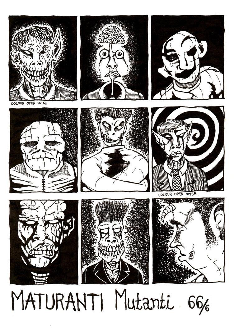 Graduates Mutants - Class 66/6 by AlenDemon