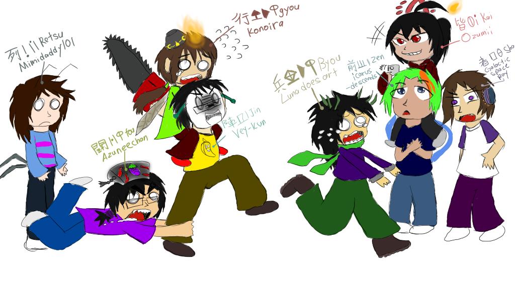 Draw the squad meme- GSI (also happy birthday vey) by MolerZhaoMinHui98