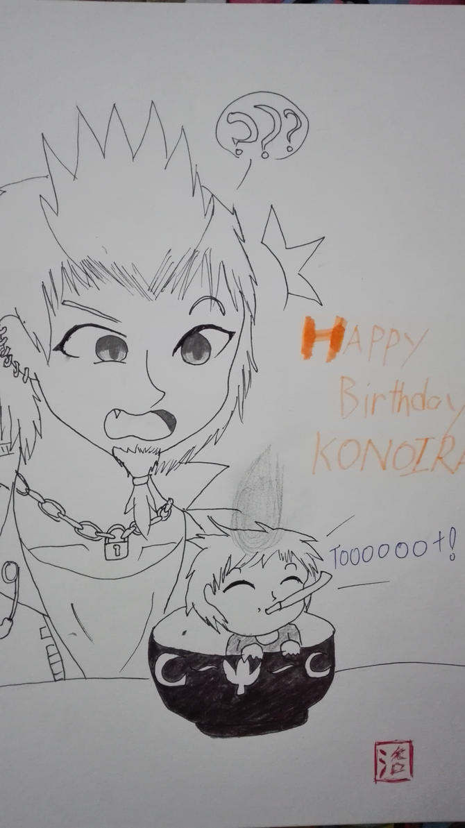 Happy Birthday Kon! by MolerZhaoMinHui98