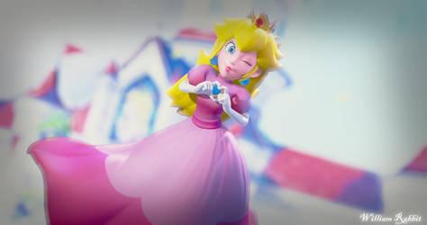 Princess Peach Love