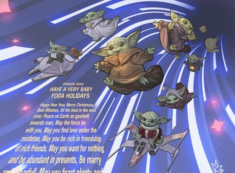 Baby Yoda invasion