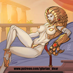 War Queen of the ziggurat