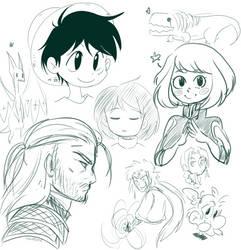 Doodles by ChoupetteOZD