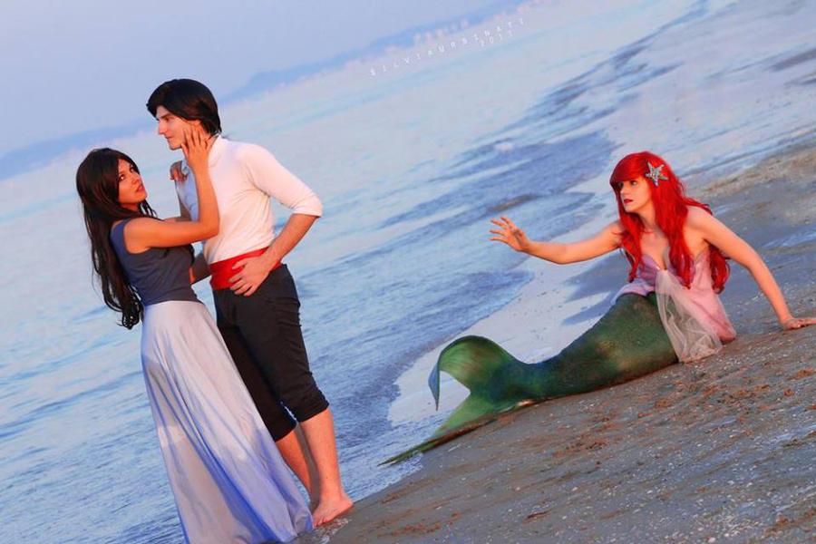 The little mermaid by RedChurippu